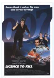 James Bond - A magányos ügynök (egylemezes változat) /DVD/ (1989)