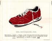 Magas, barna férfi felemás cipőben (1985)