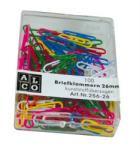 ALCO Agrafe birou colorate, 50 mm, 100 buc/cutie, ALCO Agrafa
