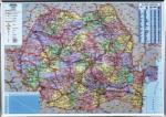 Harta magnetica, Romania, 140x100 cm