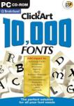 Broderbund Click Art 10.000 Fonts (PC) Software - jocuri