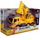 Dromader Camion excavator cu lumini si sunete
