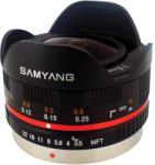 Samyang 7.5mm f/3.5 UMC Fish-Eye (MFT) Obiectiv aparat foto