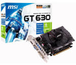 MSI N630GT 4GB 128bit DDR3 PCI-E N630GT-MD4GD3 Placa video