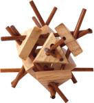 Woodyland Háromszög gombolyag logikai fajáték
