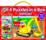 Galt Set 4 puzzle-uri vehicule (1004009) Puzzle