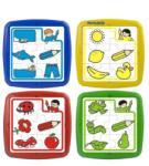 Miniland Set de 4 puzzle educative