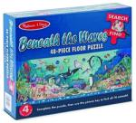 Melissa & Doug Puzzle de Podea Peisaj Subacvatic (MD4493) Puzzle