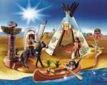 Playmobil Indián tábor Szuper szett (4012)
