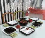 Luminarc Authentic Black&White étkészlet