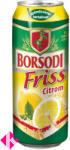Borsodi Friss Citromos 2% dobozos sör 0,5l