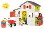 Smoby Friends (Jóbarátok) nagy fehér emeletes kerti házikó (310209)