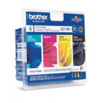 Brother LC1100VB50PDR Value Pack (BK/C/M/Y)
