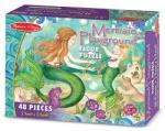 Melissa & Doug Sirene la joaca de podea (MD4436) Puzzle
