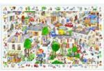 DJECO Orasul 100 piese (DJ07502) Puzzle