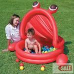 Bestway Pancsoló medence napfénytetővel 50 színes labdával