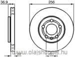 Skoda Fabia 1.4 i Első Féktárcsa LPR 14 colos kerékhez