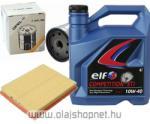 Opel Astra G szűrőszett+motorolaj ELF