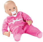 Götz Maxy Muffin baba, kék szemű, haj nélküli, 42 cm