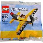 LEGO Жълт самолет 7808