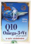 Dr. Chen Q10 + Omega-3 halolaj + E-vitamin kapszula (40db)