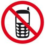 Apli Mobiltelefon Használata Tilos Információs Matrica