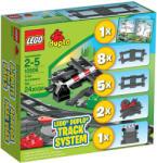 LEGO Duplo - Kiegészítõ sín garnitúra 10506