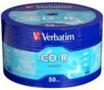 Verbatim CD-R 700mb 52X - Шпиндел 50бр Crystal AZO Printable