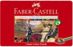 Faber-Castell Creioane colorate 36 culori/set FABER-CASTELL, cutie metal, FC115846
