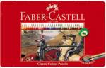 Faber-Castell Creioane colorate 36 culori/set FABER-CASTELL cutie metal