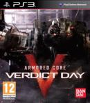 Namco  Bandai Armored Core Verdict Day (PS3) Játékprogram