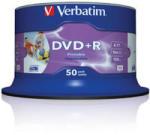Verbatim DVD+R 4.7GB 16x - шпиндел 50бр.