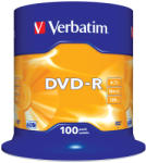 Verbatim DVD-R 4.7GB 16x - Suport rotund DVD 100buc. (43549)