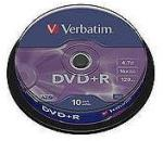 Verbatim DVD+R 8.5GB 8x - Suport rotund 10buc. Dual layer (43666)