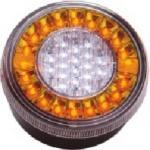 LAP Eletrical Lampa stop auto rotunda LED cu functii de Marsariei-Semnalizare 12/24V - overlords - 275,72 RON