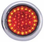 LAP Eletrical Lampa stop auto rotunda LED cu functii de Pozitie-Frana-Semnalizator 12/24V