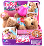 Hasbro FurReal Friends Feed Me Babies barna újszülött maci