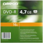 Omega DVD-R 4.7GB 16x - Carcasa DVD 10buc.