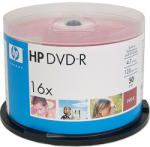 HP DVD-R 4.7Gb 16X - шпиндел 50бр.