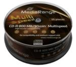 MediaRange CD-R 800MB 48X - Henger 25db