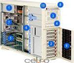 Supermicro CSE-743T-R760