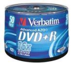 Verbatim Dvd+r 4.7gb 16x Suport Rotund 50buc. (43550)