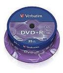 Verbatim Dvd+r 4.7gb 16x Sp50buc. (43512)