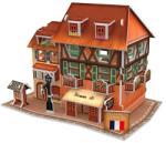CubicFun Magazin Vestimentar 3D (W3119H) Puzzle
