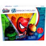 Mega Puzzles 3D Domborított Puzzle - Marvel Szuperhősök 1-es fokozat