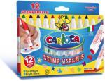 CARIOCA Carioci cu stampila 12 culori/set CARIOCA