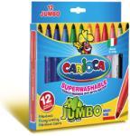CARIOCA Carioci varf gros 12 culori/set CARIOCA Jumbo