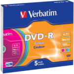 Verbatim Dvd-r 4.7gb 16x Slim 43557