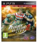 Tru Blu Entertainment Rugby League Live 2 [Game of the Year Edition] (PS3) Játékprogram