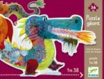 DJECO Dragonul Leon DJ07170 Puzzle